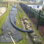 French Drain Installation Savannah Pooler Richmond Hill Georgia