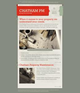 Chatham Property Maintenance Winter Newsletter