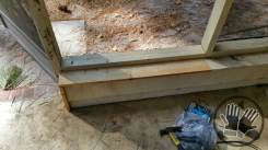 Screen Porch Repairs before Painting