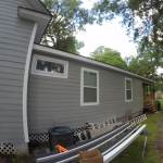 aluminum gutter installation 2