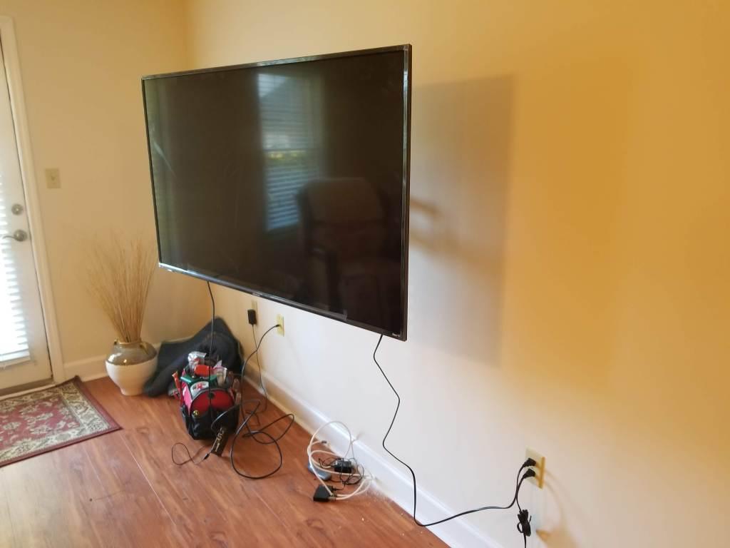 tv wall mount installation chatham property maintenance. Black Bedroom Furniture Sets. Home Design Ideas