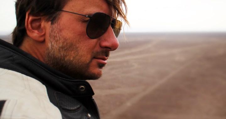 Fabián C. Barrio escritor, viajero y mago