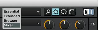 cruise mode modalità mixer
