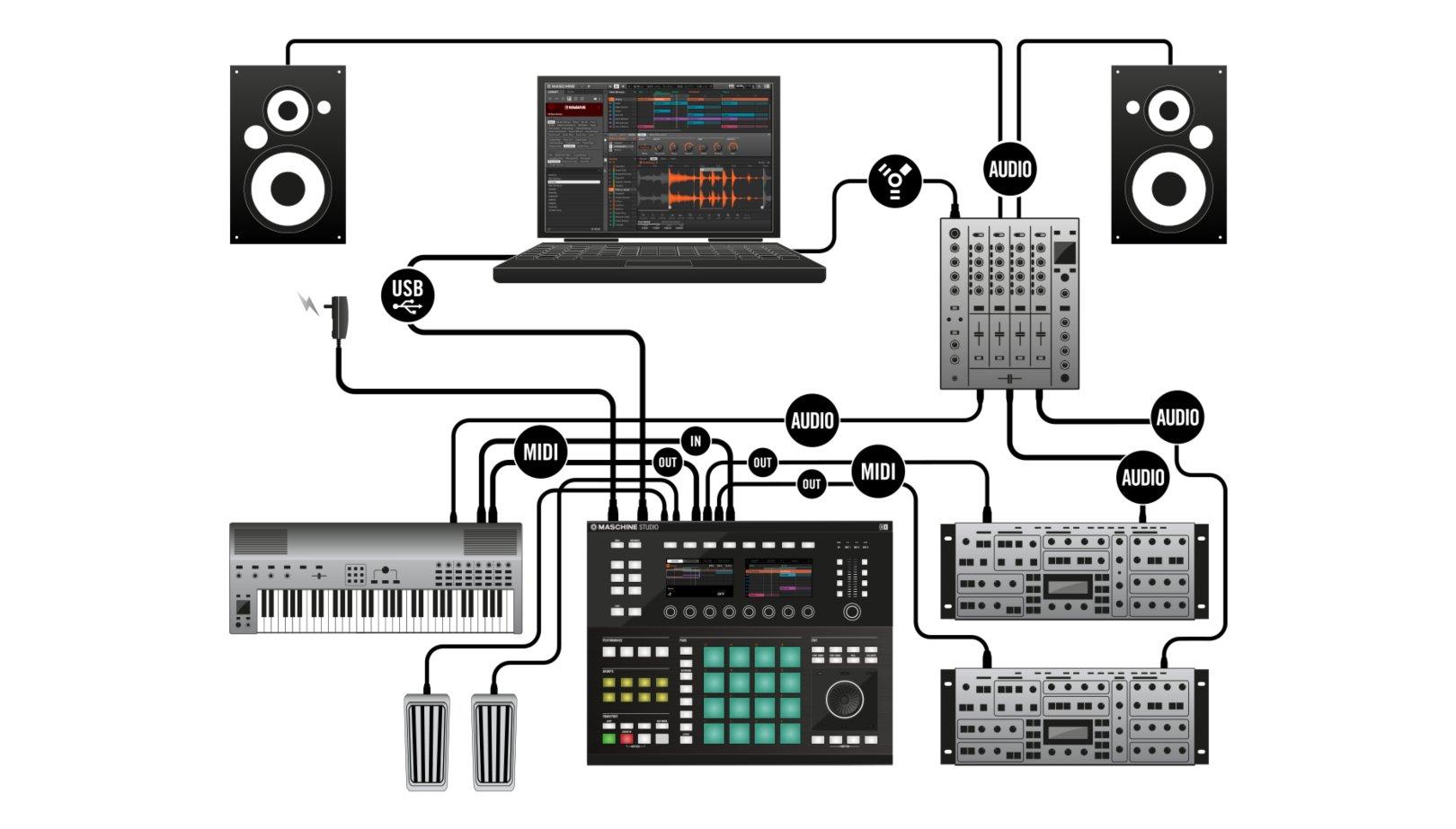 100k dual ganged stereo volume control wiring diagram ford puma ecu audio mixer block imageresizertool com