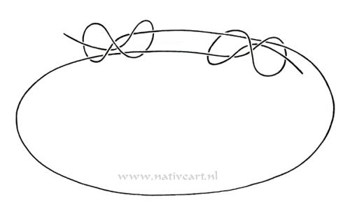 How to make A sliding knot for a necklace or talisman