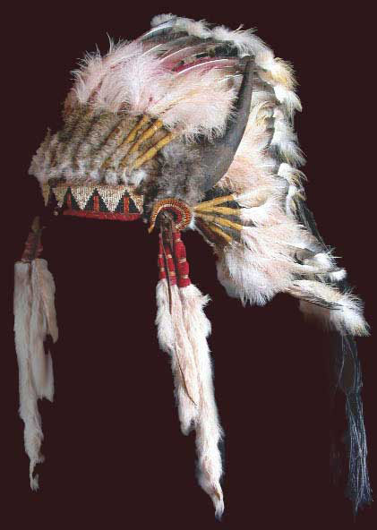 Plains Indian Headdress headdresses  War Bonnet War