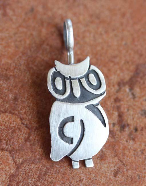 Nakai Sterling Silver Heart Pendant