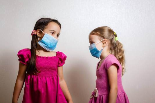 getting a toddler to wear a mask