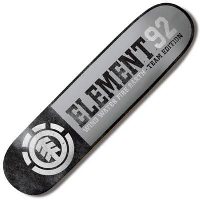 Element Skateboards Element Team Edition Level Skateboard Deck 80  Skateboard Decks from