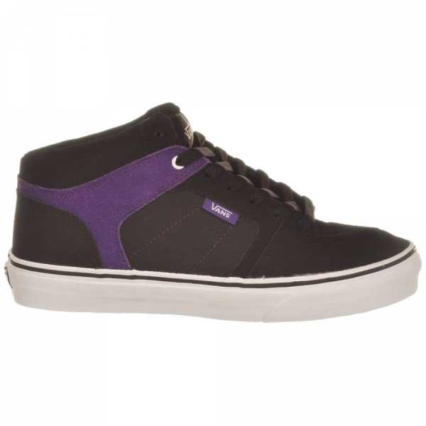 Vans Ellis Mid Black Purple Youth - Native