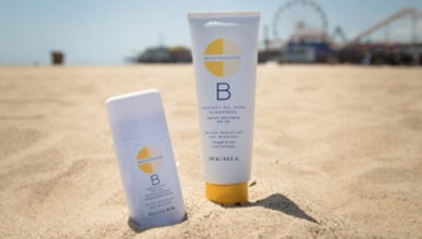 beauty counter sunblock Santa Monica California beach