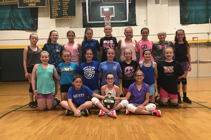 volleyball camp 2017 older group