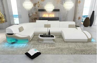 canape design diablo xl avec eclairage led port usb