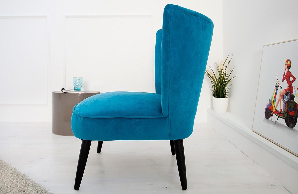 Lounge Sessel RECENT BLUE designer bei NATIVO Mbel