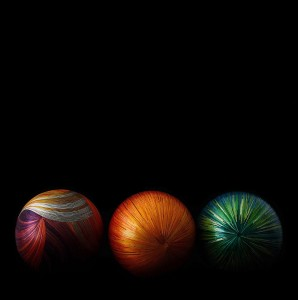 Accessoires Sphère en bois fibres de blé Nativos
