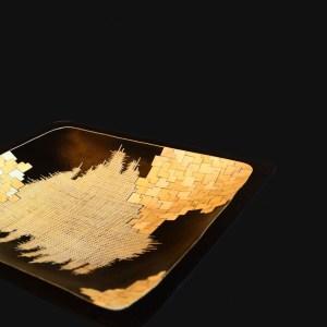 nativos milieu de table bois paille plats