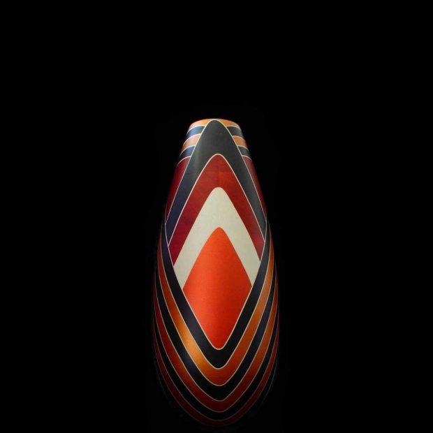 nativos vase bois résine d'Amazonie