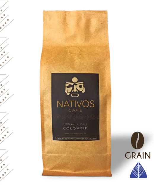 Café Nativos, micro-lot origine Colombie