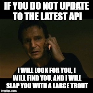 Chase the late adopters of your API