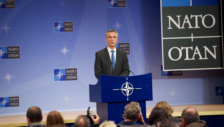 NATO Secretary General Jens Stoltenberg during his press conference
