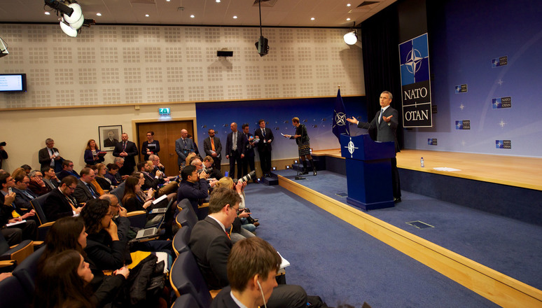 Press conference by NATO Secretary General Jens Stoltenberg before the Defence Ministers meetings at NATO headquarters on 15 and 16 February 2017