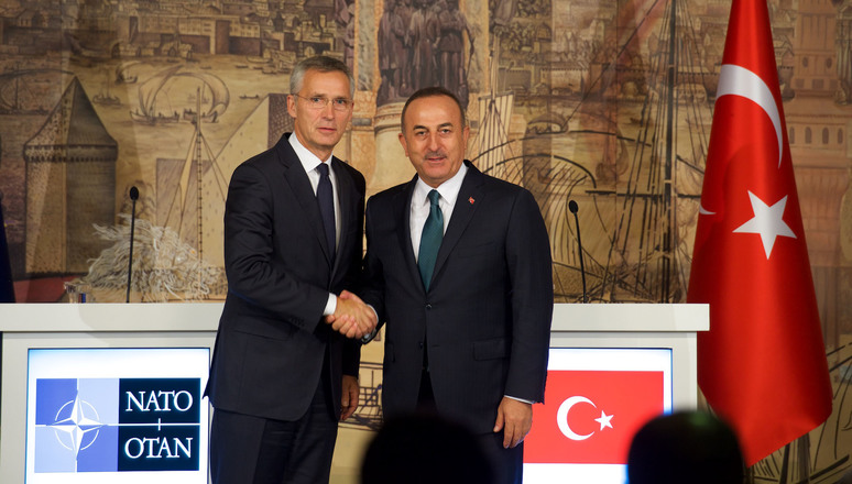 Joint press conference with NATO Secretary General Jens Stoltenberg and the Minister of Foreign Affairs, Mevlut Cavusoglu
