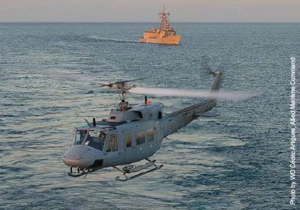 Faster response: elements of the NATO Response Force training in the Mediterranean.