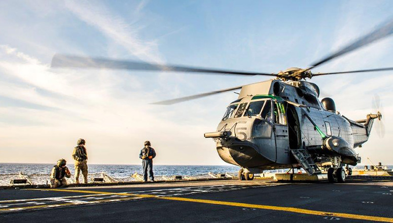 SNMG2 PERFORMING the MISSION IN AEGEAN SEA_