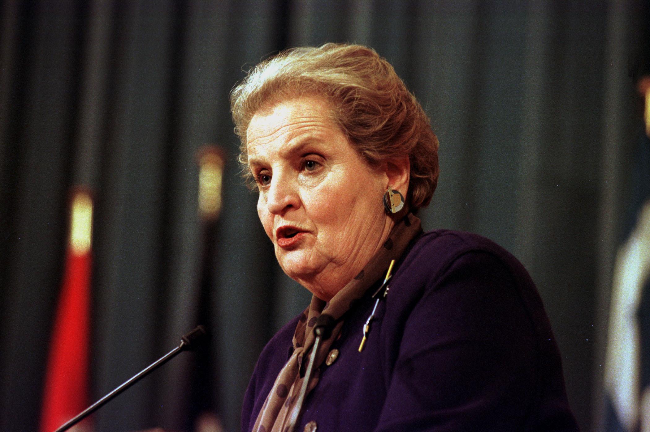 (Madeleine Allbright, via NATO)