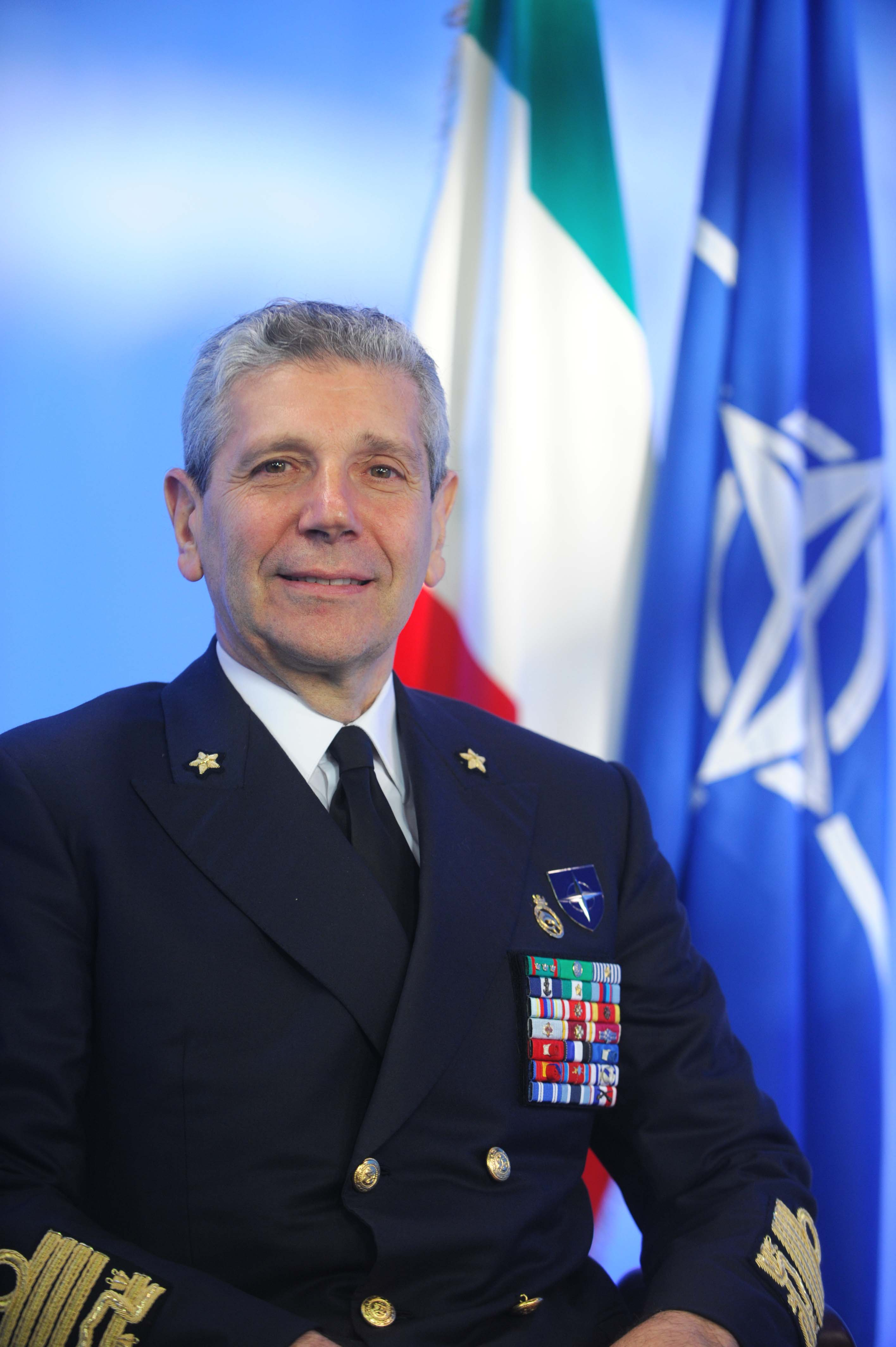 NATO Biographies Chairman of the Military Committee Admiral Giampaolo Di Paola
