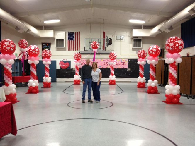Hosting A Valentine Dance Let Us Create An Amazing Canopy For You