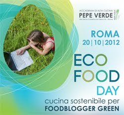 Cucina sostenibile per foodblogger green, Io sono uno dei 20 foodblogger scelti