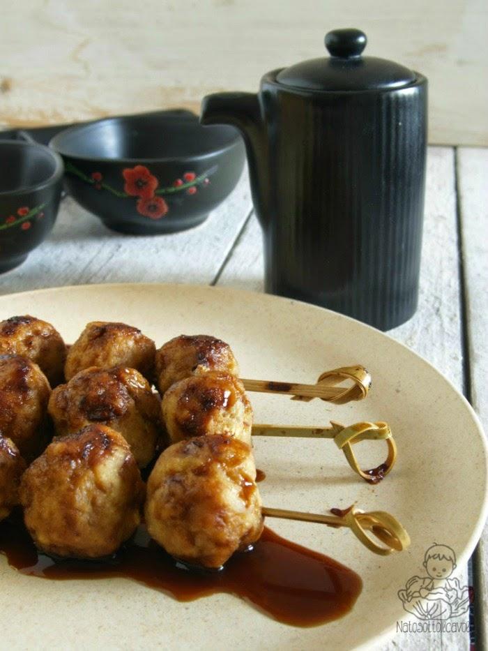 Tsukune, deliziose polpettine di pollo!
