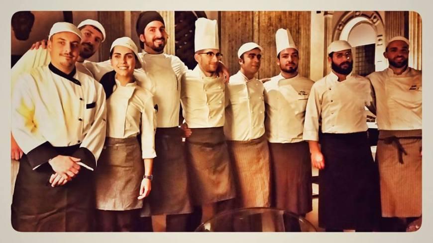 Brigata Ristorante Senses chef Simone Strano