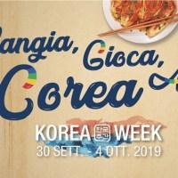 La mia Korea Week Roma 2019 - Mangia, Gioca, Ama, Corea