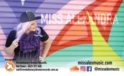 Miss Alexandra business card design | Nat Rowe