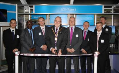 The Mayor officially opens the NATS exhibition