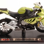 Maisto Mi10032gr Bmw S1000rr Metallic Green 1 18 Modellino Die Cast Model Moto Scala 1 18