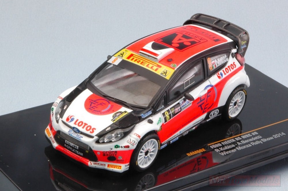 medium resolution of ixo model ram602 ford fiesta rs wrc n 8 rally monza 2014 kubica benedetti 1 43 auto rally scala 1 43