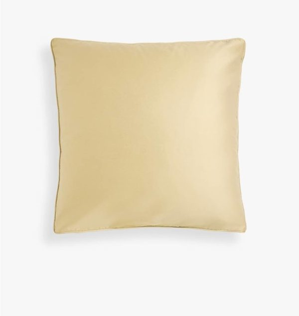 Taie d'oreiller en satin  Beige 70/50cm- Rectangle