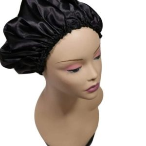 Bonnet en satin doublé-Nat Tricia Shop