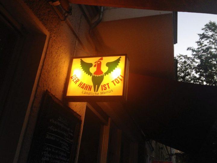 Reiseguide Berlin: Der Hahn ist tot!