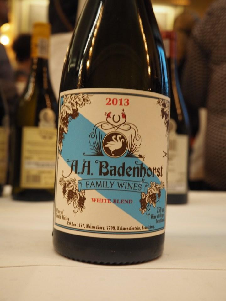Sørafrikansk vin: Badenhorst White Blend