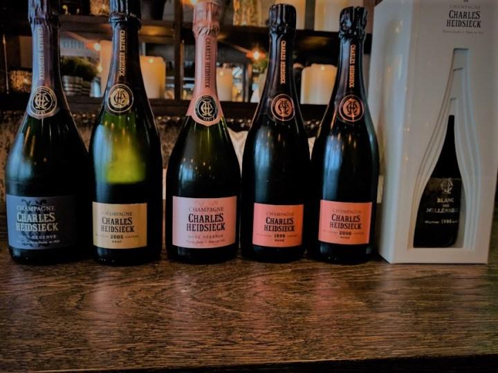 Charles Heidsieck: Ekstremt flotte Champagner!
