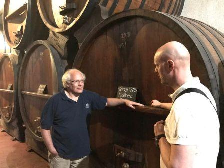 Argentinsk vin: Vinmakeren Hubert Weber hos Weinert.