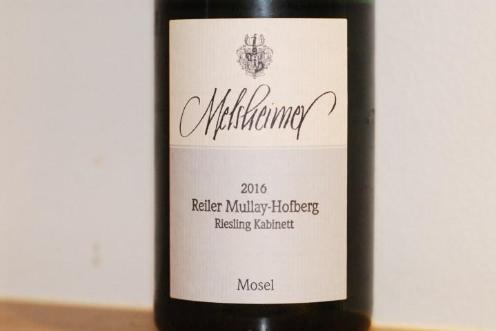 Melsheimer Reiler Mullay-Hofberg Riesling Kabinett 2016