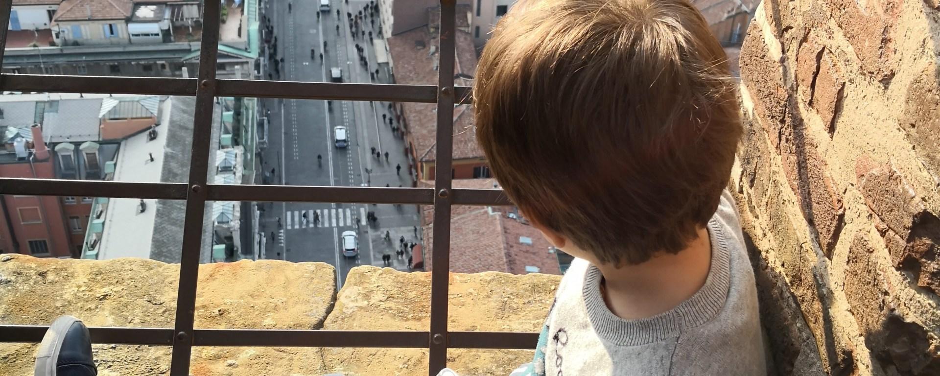 Utsikt fra Torre Asinelli