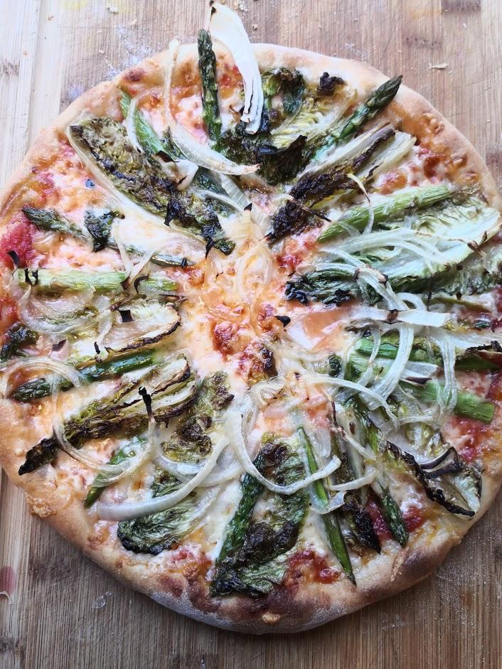Pizza Rossa Prima Vera