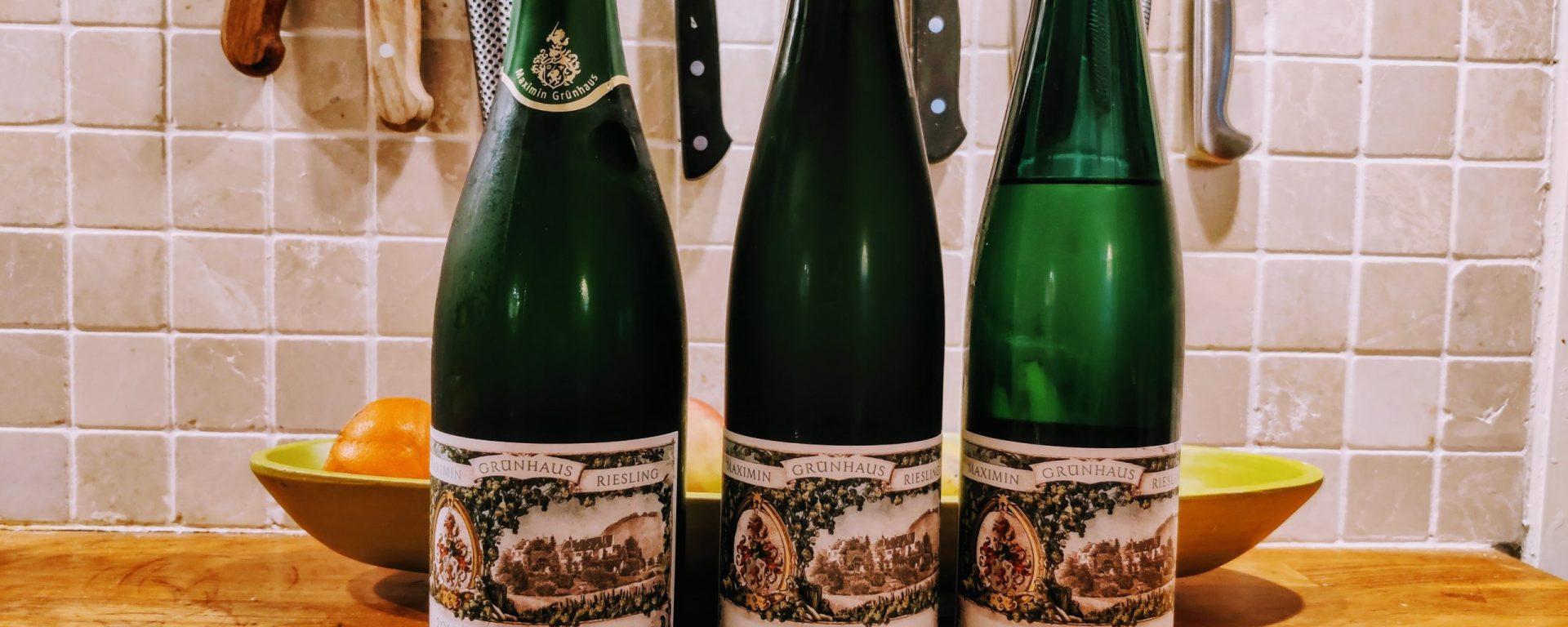 Tre viner fra Maximin Grünhaus