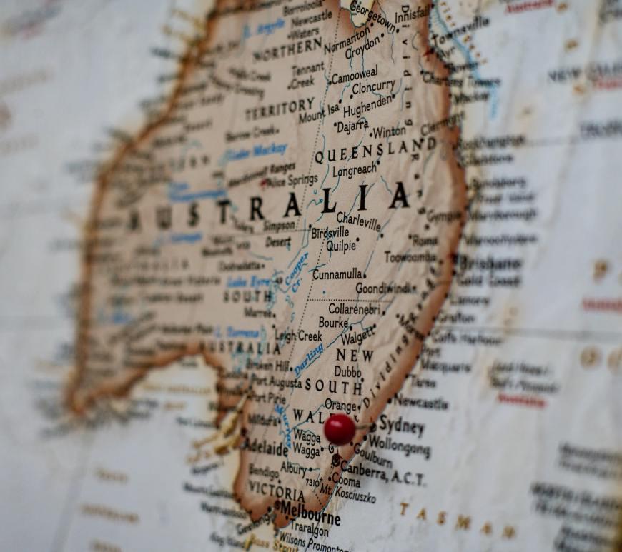 Australiakart